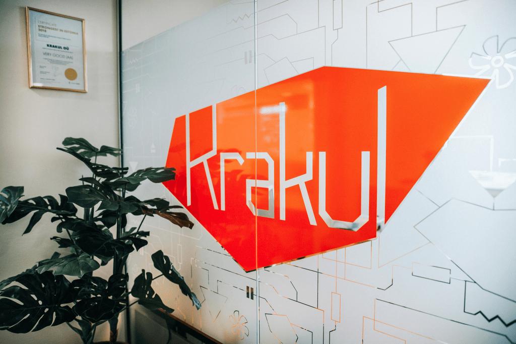 Krakul logo on a wall