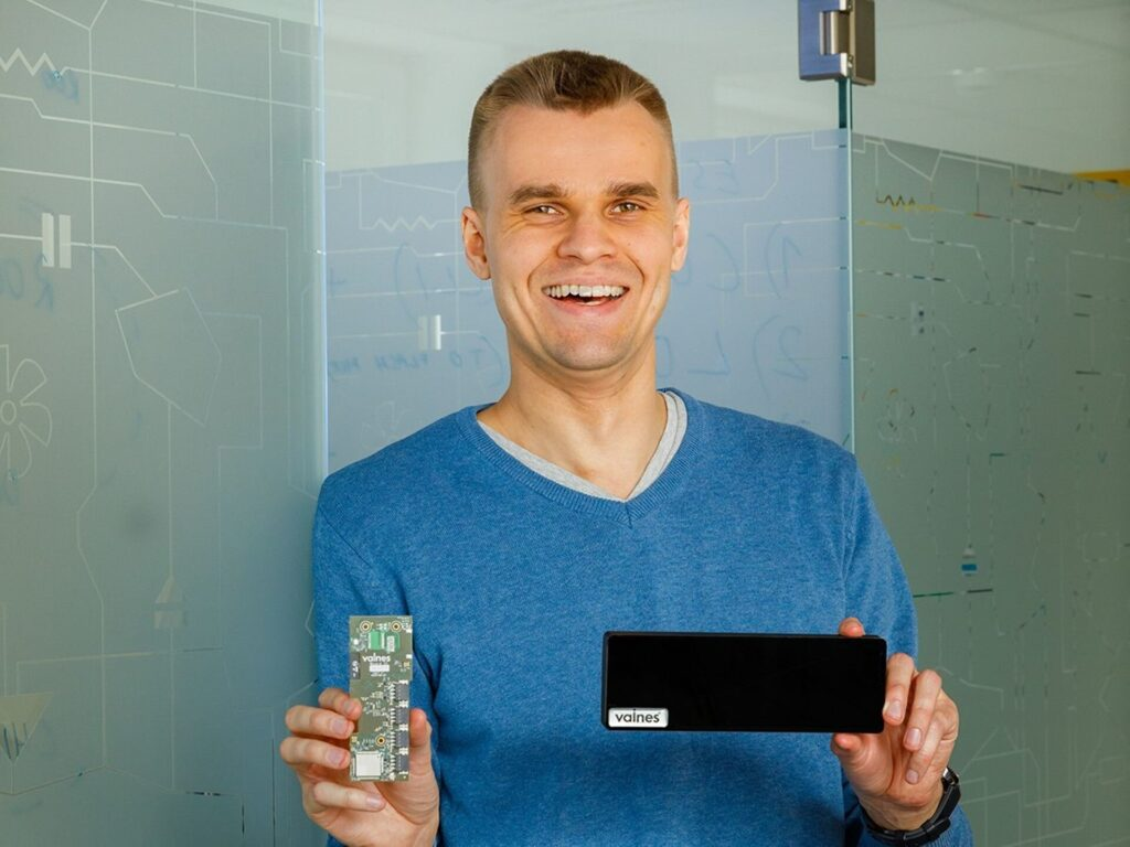 Jaan Hendrik Murumets, the young entrepreneur of the year, CEO and partner of Krakul.