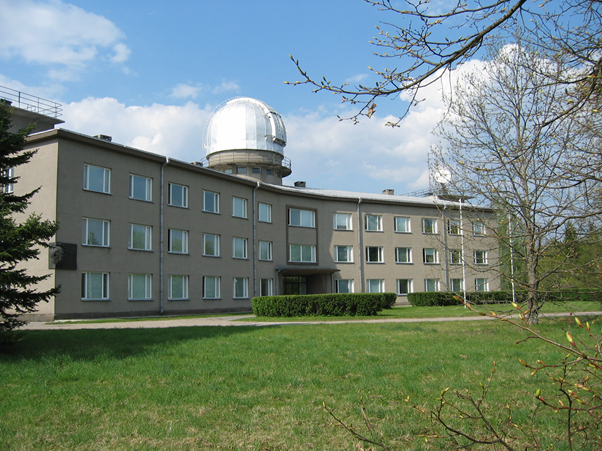 New Tartu Observatory main building - Short history of the Estonian space industry